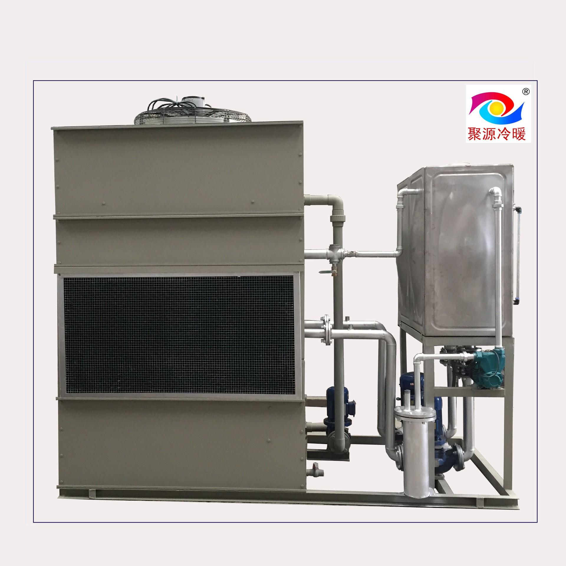 10m3/h空冷器 管式换热器 聚源冷暖 循环水冷却 混合式换热器