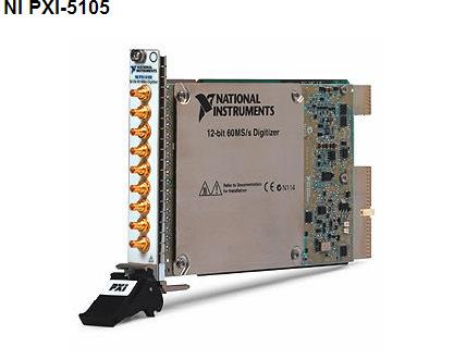 PXI-5105示波器/数字化仪 高速控制 数据采集、分析