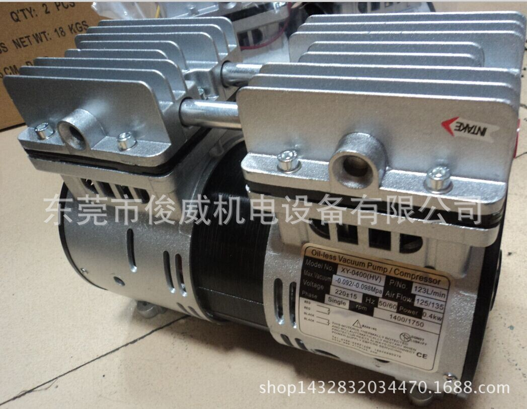 750W干式真空泵,自动化设备真空泵,各种功率机械手批发