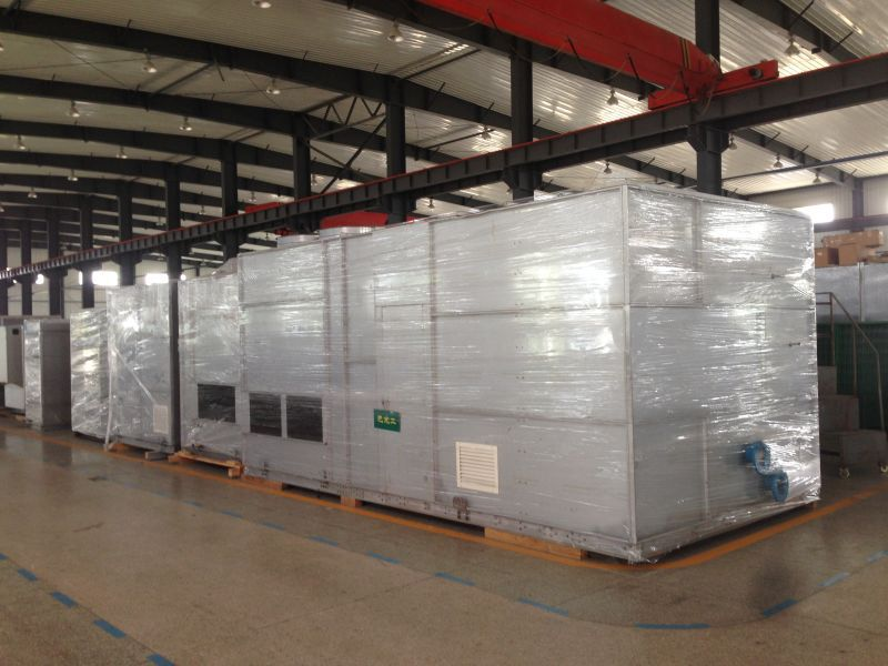 不需机房的冷水机组 螺杆式冷水机 聚源冷暖 JYL 循环水冷却、制冷系统