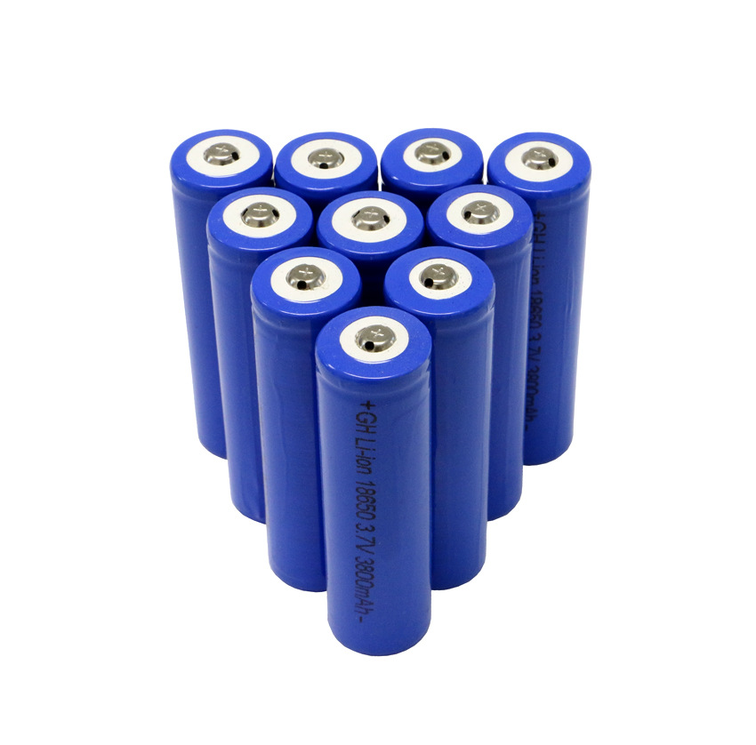 18650充电电池 手电筒 锂电池 可充电