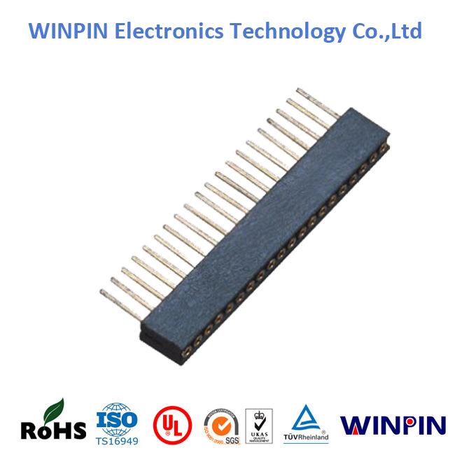 27mm WINPIN 圆孔排针系列 排针/排母/排线 PCB AC/DC