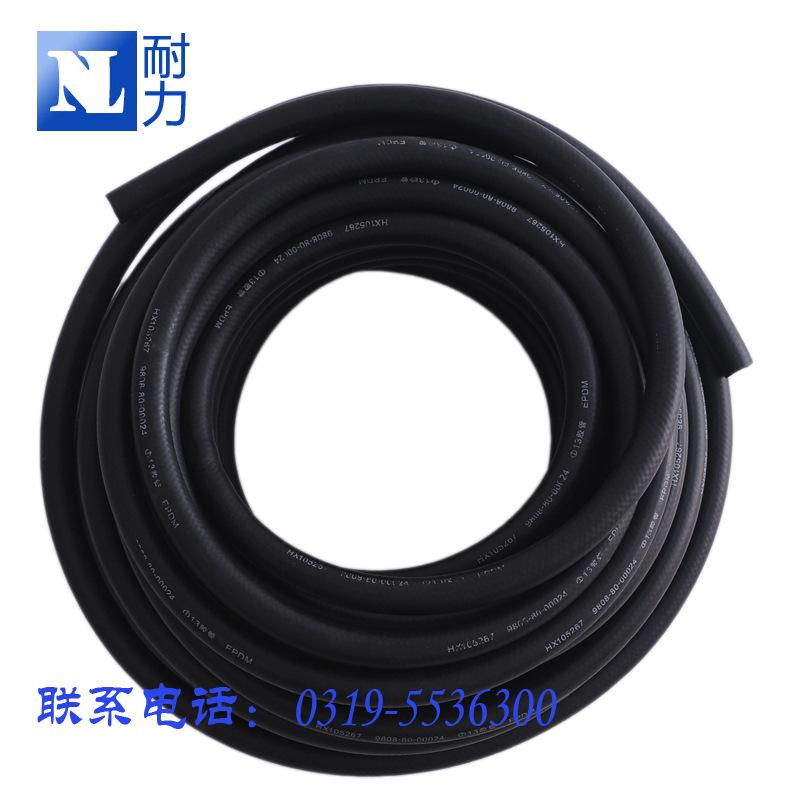 4 6mm 汽车上下水管 epdm橡胶管 nbr耐油丁腈夹线胶管 暖风管油管