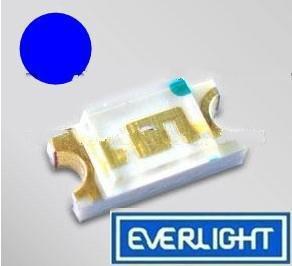 供应亿光1206蓝灯15-21/BHC-AN1P2/2T贴片发光二极管SMD