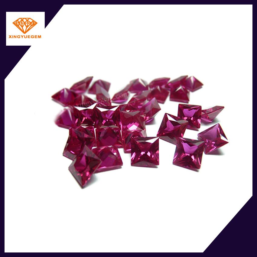 3#红刚玉裸石半成品 打磨抛光 裸石/半成品 VVS 纸盒包装