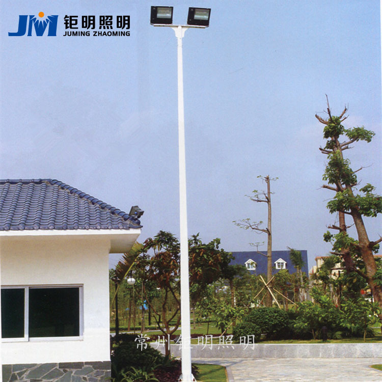 厂家定制6米高杆球场灯led户外广场路灯篮球场灯双头照明球场灯