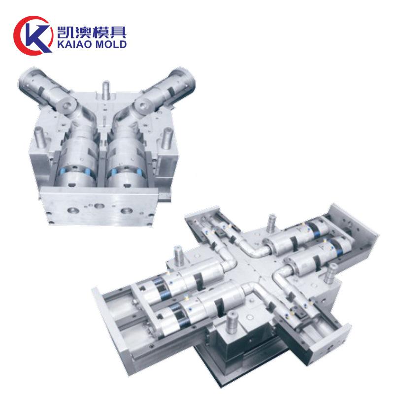 黄岩管件模具厂家 注射成型模 多型腔模具 移动式模具