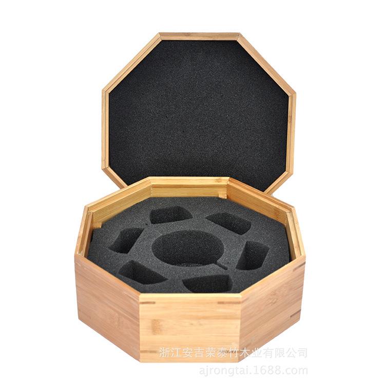 竹造工艺品包装盒月饼盒 月饼盒 半手工半机器 木盒包装
