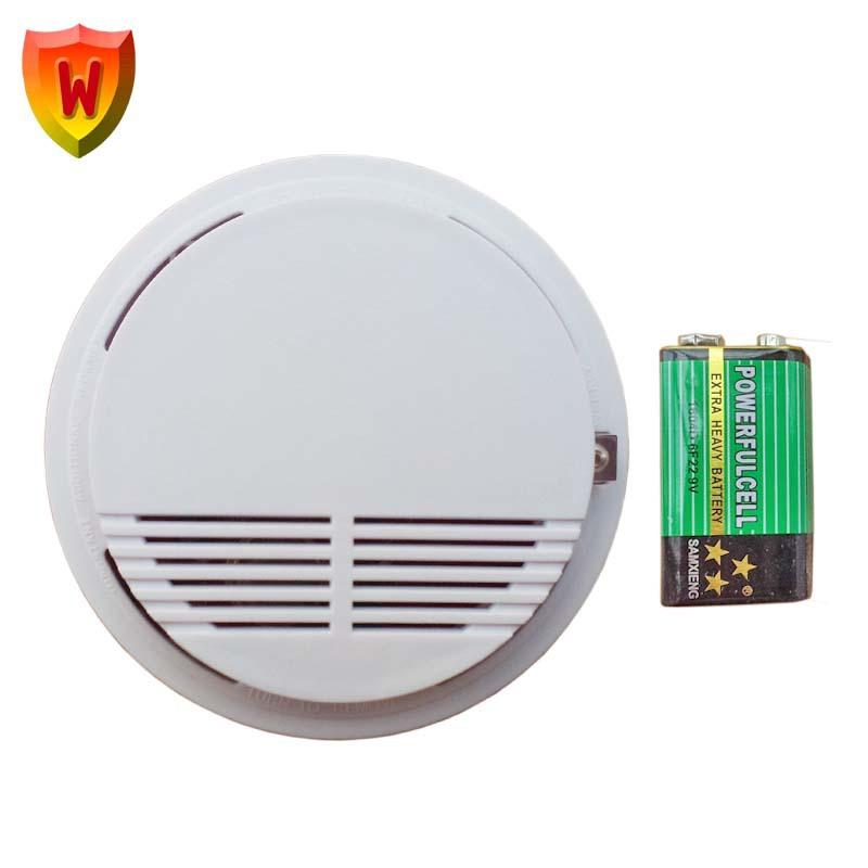 烟雾报警器消防家用火灾感烟报警器烟气感应器烟感器探测器SS-168 吸顶式