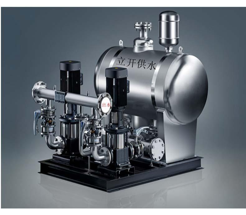 厂家直销恒压变频无塔供水给水设施 无负压变频供水设备