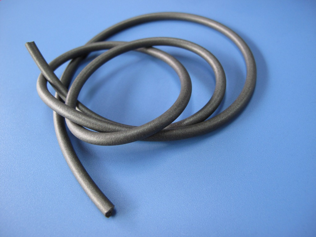供应导电橡胶管 电磁屏蔽 屏蔽电磁兼环境密封 石墨镀镍 屏蔽电磁