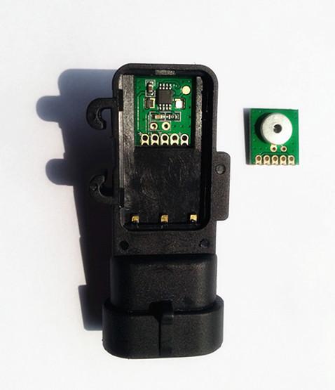 供应测量汽车空调压力3MPA绝压压力传感器模组