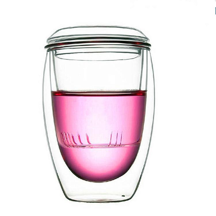 玻璃三件杯耐热玻璃茶杯可加工