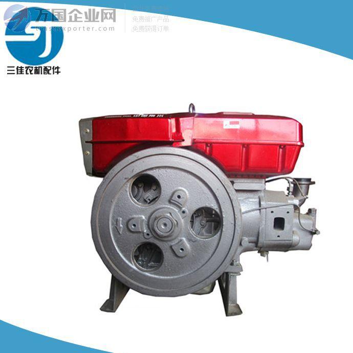 =常柴原厂ZS1130电启动单缸柴油机 三佳农机配件