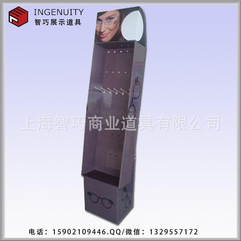 上海挂钩纸货架/展现架/纸堆头工厂设计定制/欢送来图加工定制
