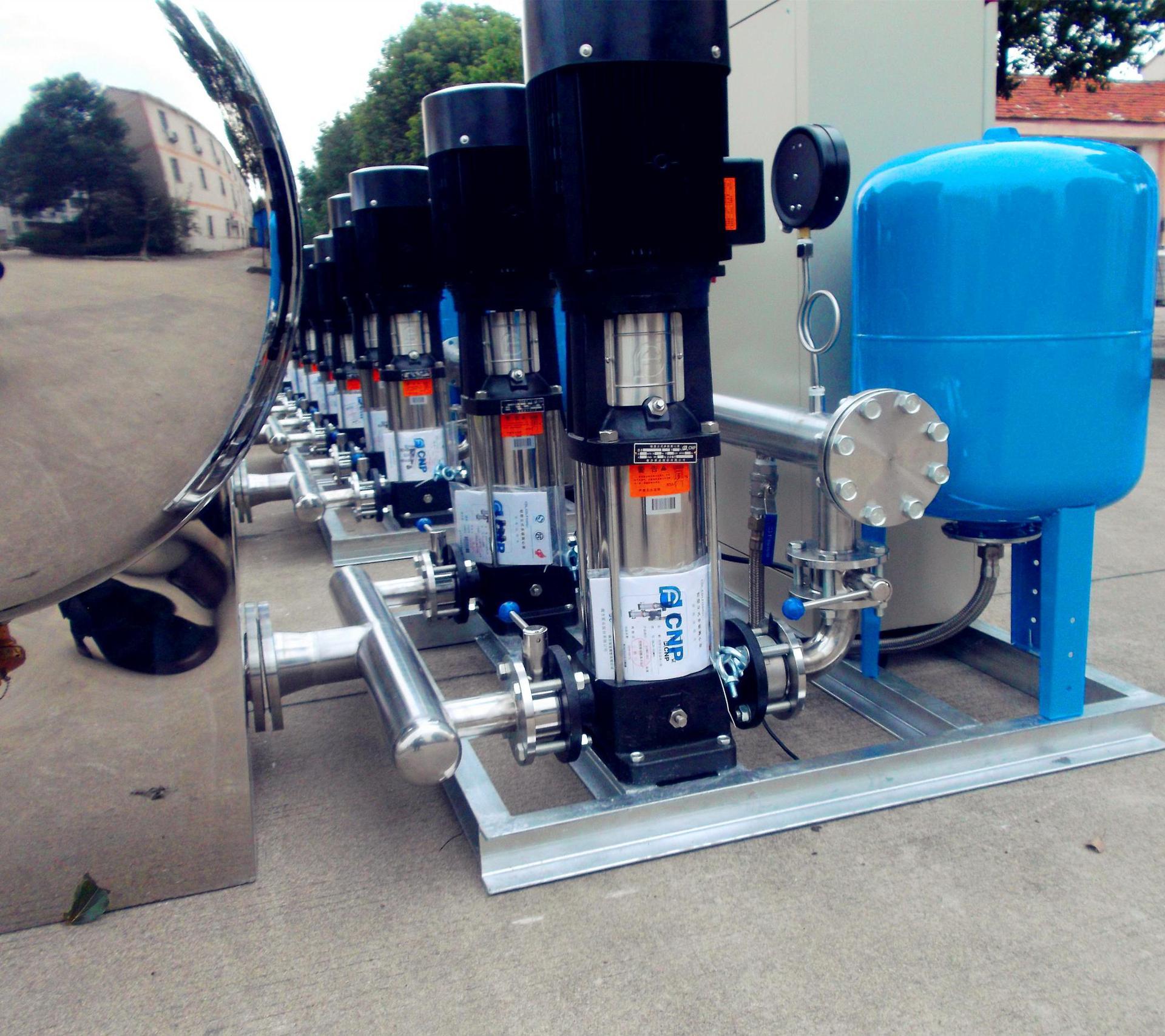全自动高层二次增压恒压变频无负压供水设备 无负压变频供水设备
