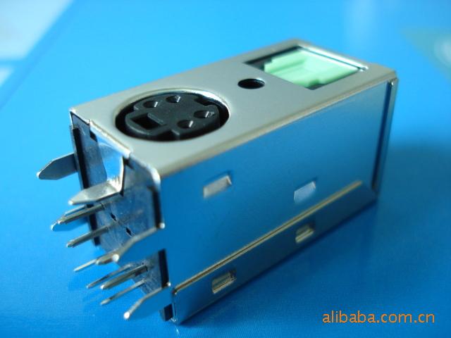 音频连接器DLT11R6-D2同轴加光纤 RS-MMC PBT