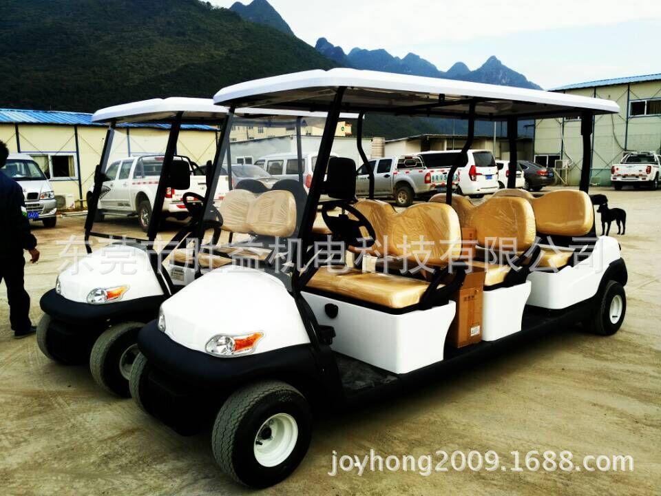 6座电动高尔夫车  小区代步电瓶车  楼盘看房接待观光车