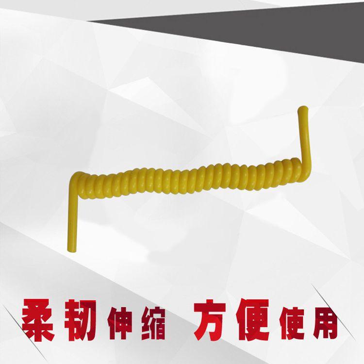 实心弹弓线黄色工程用线质量保障 PVC---PU 电器配件