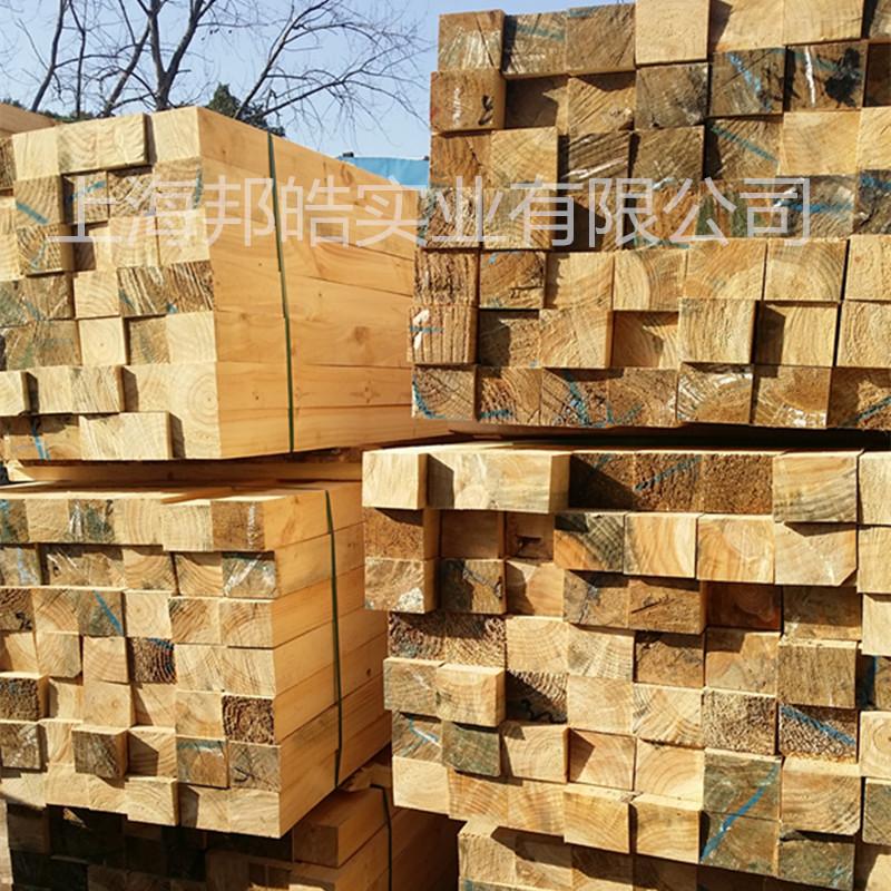包装箱木材料 辐射松 不易劈裂 订尺寸加工