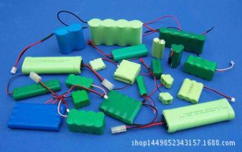 充电镍氢镍镉锂电池五号七号5号7号5#7#AA、AAA1.2V2.4V3.6V4.8V