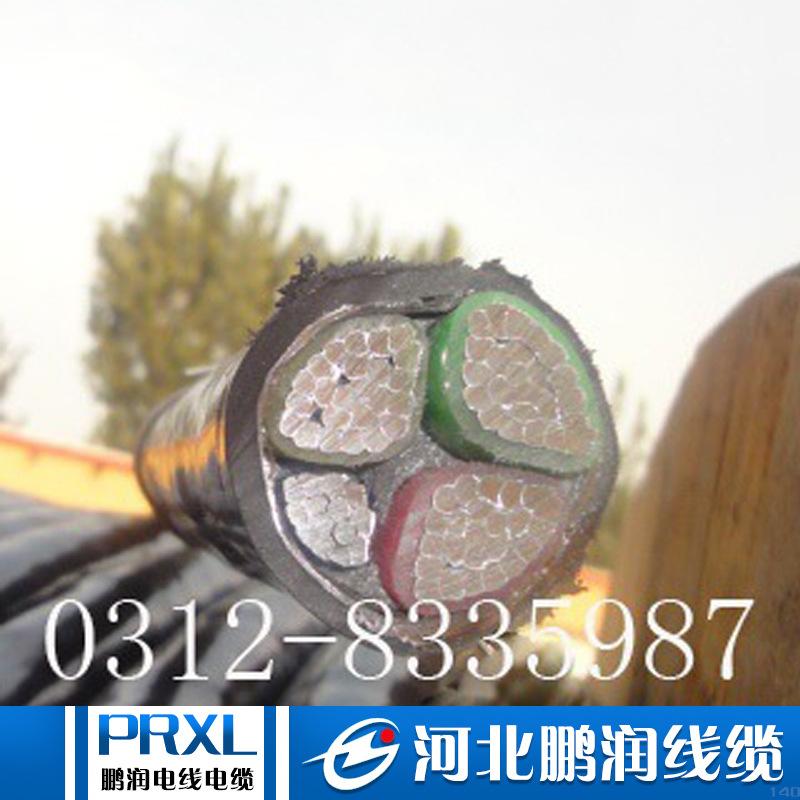 厂家直销 铝芯电缆YJLV22  国标阻燃铠装5芯 4芯 3芯 电力电缆