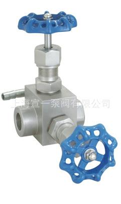 J13W-160P仪表针形截止阀不锈钢 直通式
