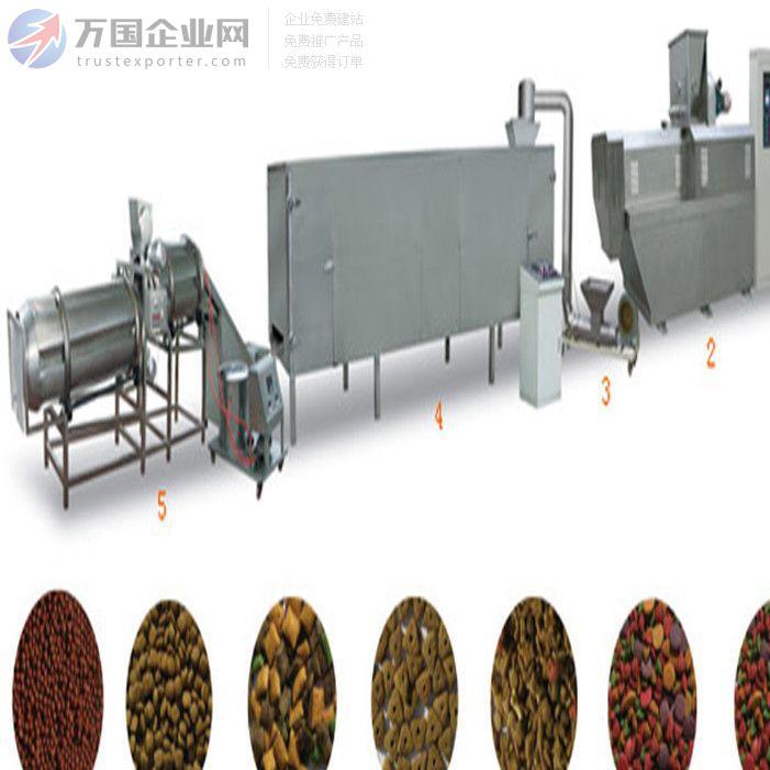 供应DXY-70 鱼饲料膨化机 鱼饲料生产