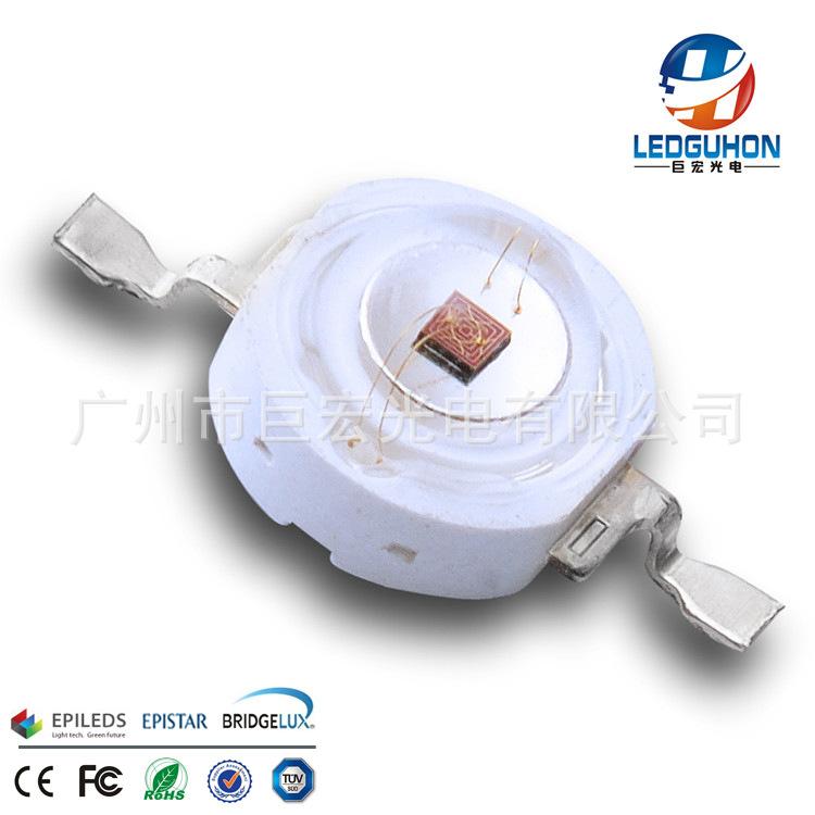 超高亮660nm医疗灯植物灯发光二极管 LEDGUHON/巨宏光电