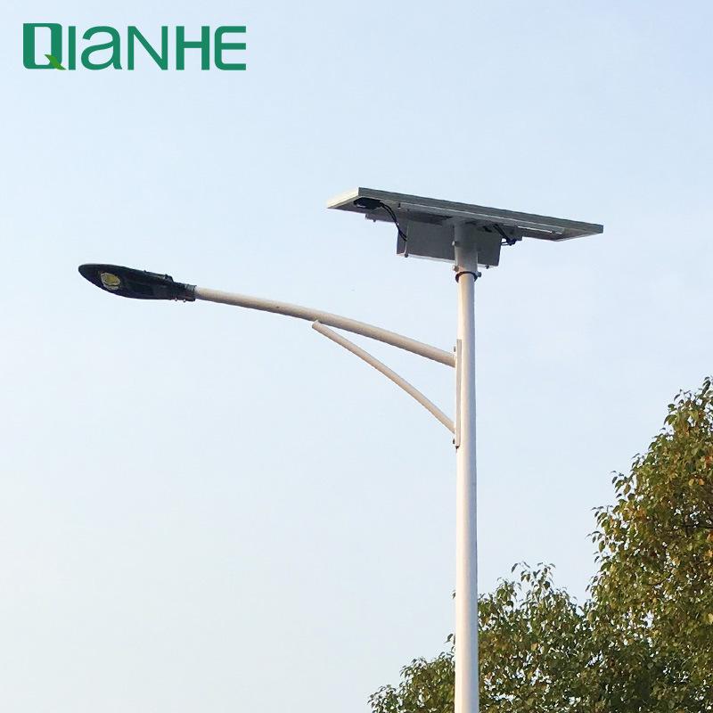 太阳能LED新农村一体化庭院景观酒店厂区广场市政道路照明路灯30w