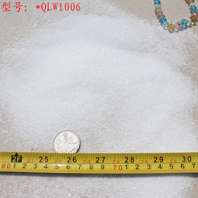 5-4mm纯白色不导电电光源灌胶填充料 石头源 石英砂