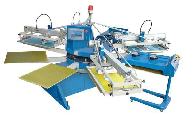 全自动四色印花机 服装面料 全自动 整机保修一年