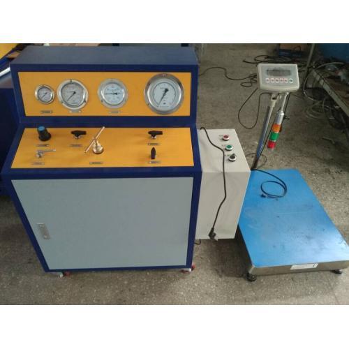 消防瓶3C认证检测设备 赛思特七氟丙烷药剂充装系统