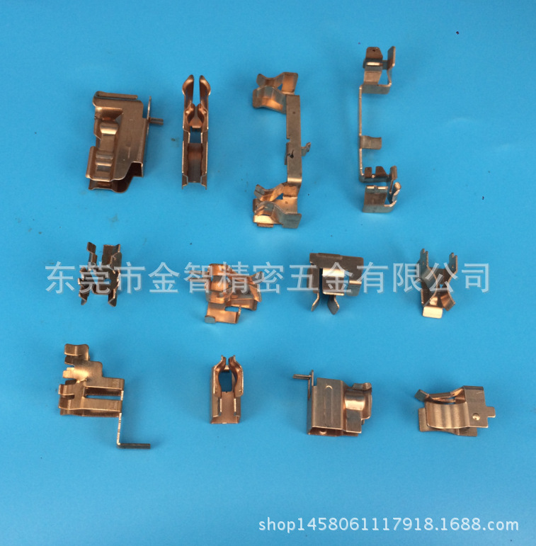 创意插座小铜片订制 插座铜片 含运费 磷铜、黄铜 电器开关插座