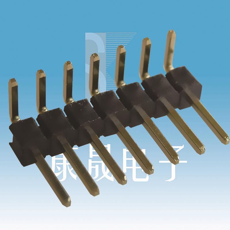 54排针单排7PIN KANGSHENG 排针/排母/排线 PCB IDC 阻火/阻燃