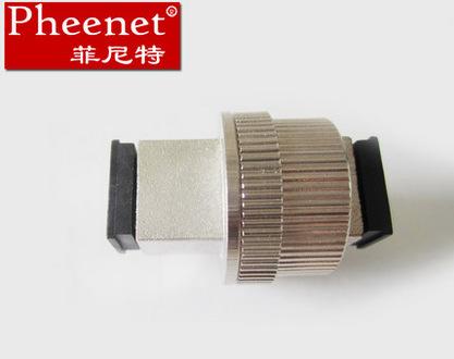 SC可调固定阴阳法兰转换式光纤衰减器 菲尼特