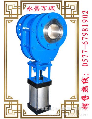耐磨气动陶瓷双闸板出料阀PZ644TC-10C DONGBO/可贴牌 执行器