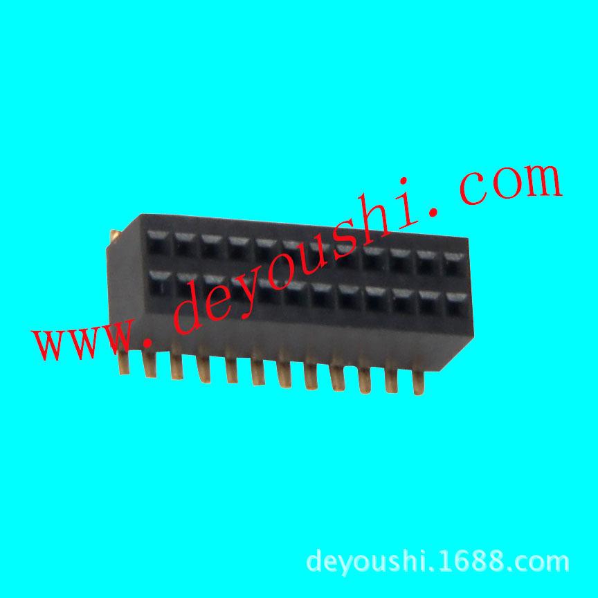 54排母系列 自主生产 排针/排母/排线 电子制品 阻火/阻燃 黄铜镀金