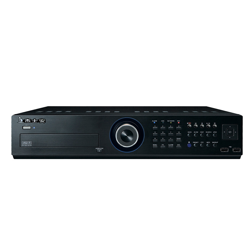 8盘位32路网络硬盘录像机 杰士安 嵌入式 开机录像