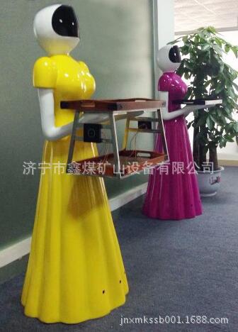 餐厅服务机器人厂家直销 餐厅服务机器人 保修一年