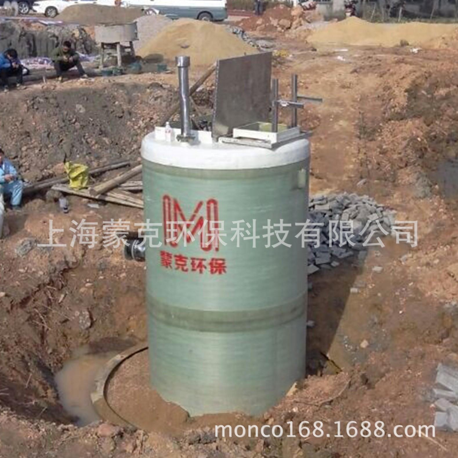 工业建筑用大型预制泵站SMPPS-1