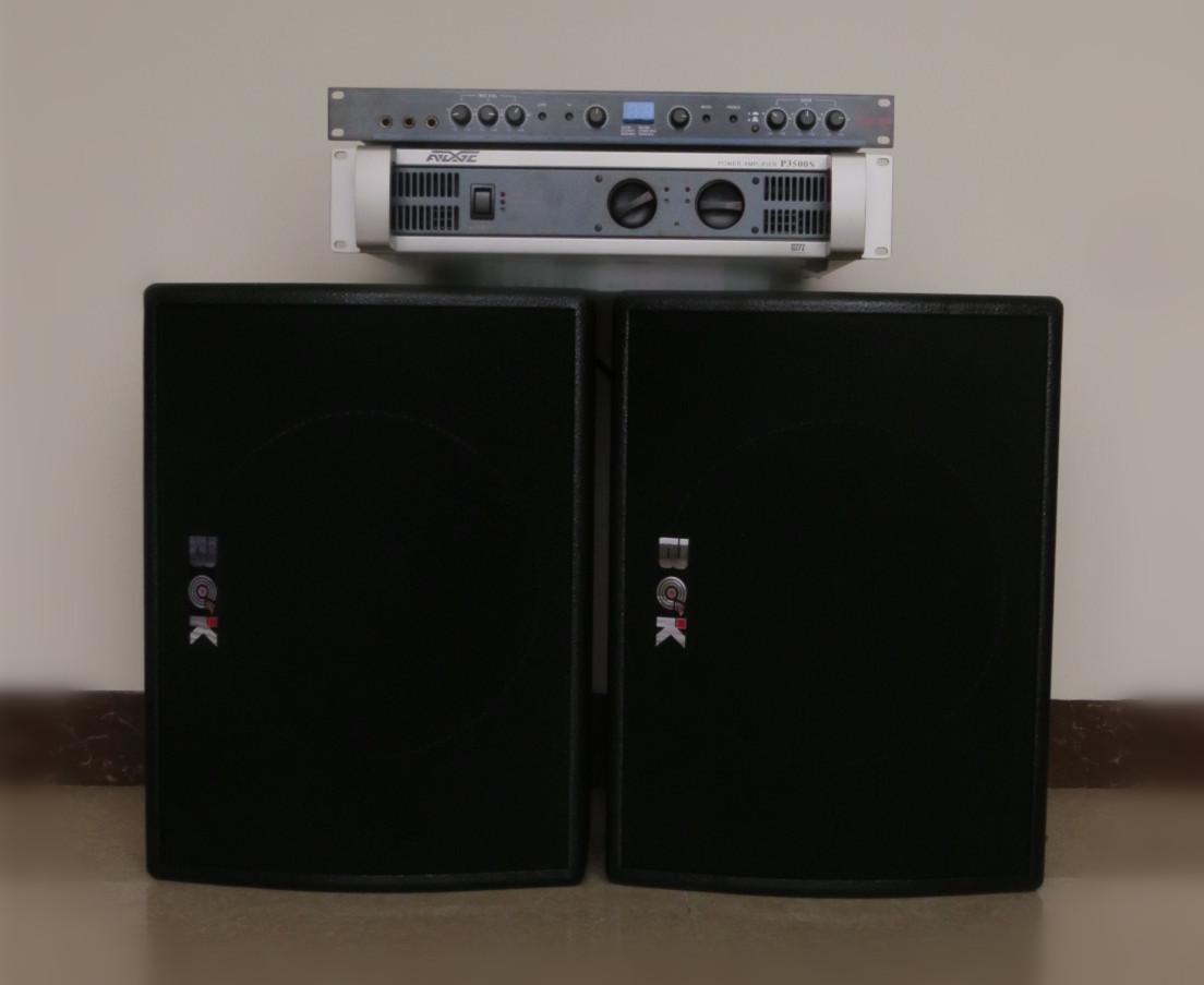 12寸大功率KTV音响功放效果器套装家庭影院卡包高级音箱套餐批发