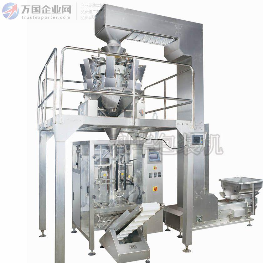 全自动LH-420薯片薯条膨化组合秤包装机 复合材料