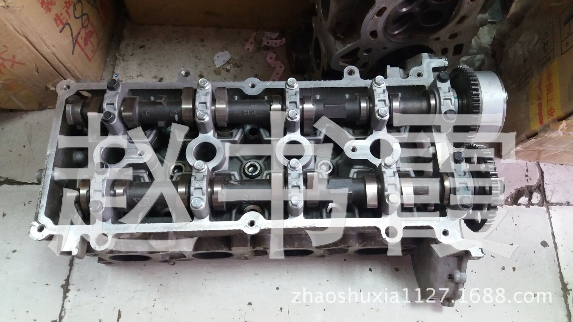 纳智捷大7SUV带VVT缸盖,原装拆车件,原装二手汽车配件