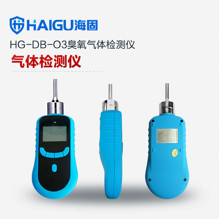 海固臭氧气体检测仪 泵吸式臭氧检测仪 充电锂电池