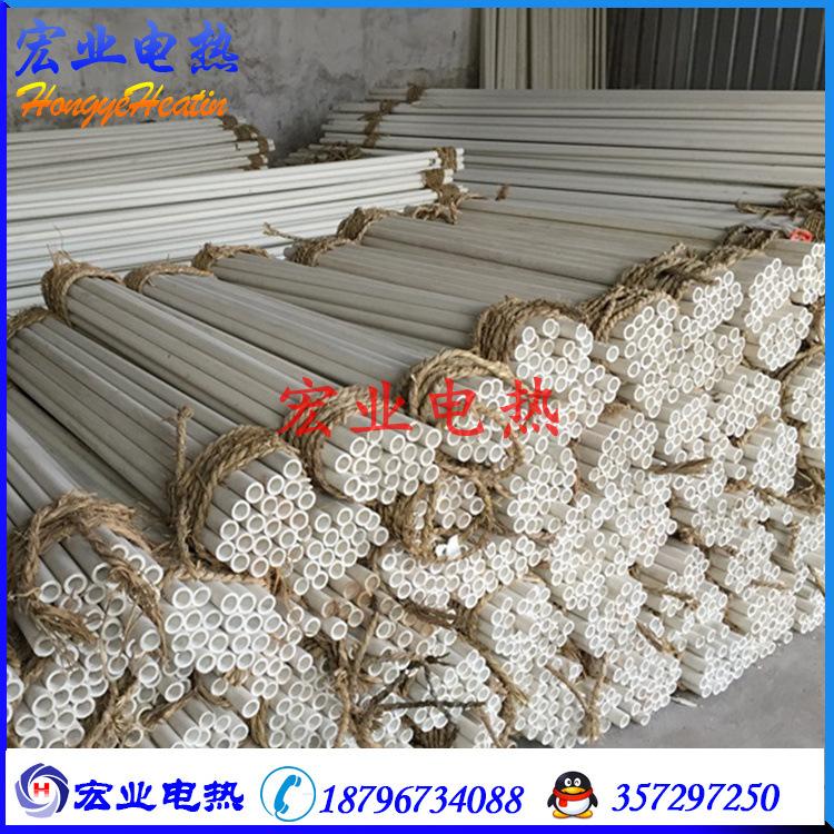 厂家供应耐低温陶瓷管绝缘高强度刚玉管耐磨管热电偶维护管