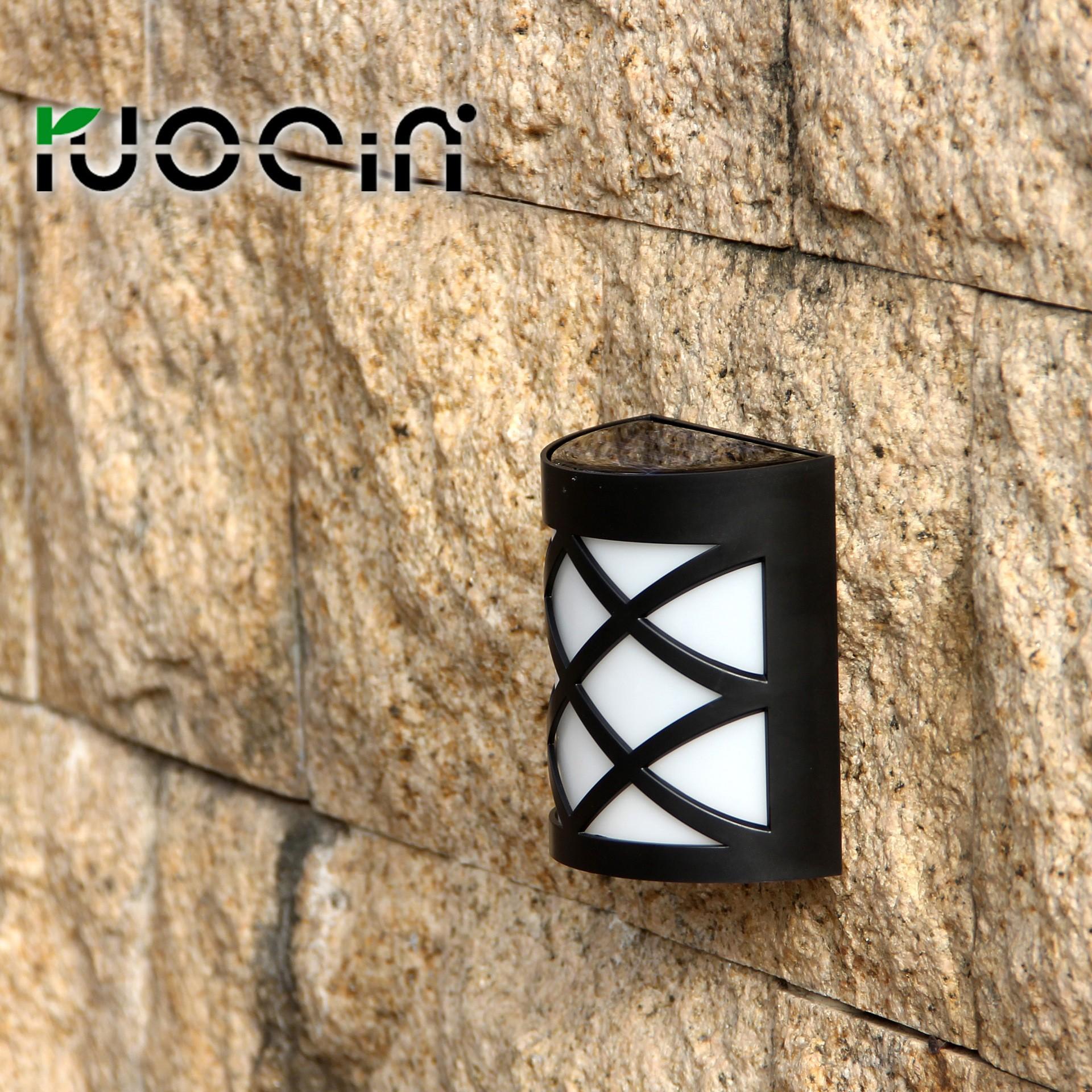 装饰照明灯一件代发 Ruocin 太阳能壁灯 LED