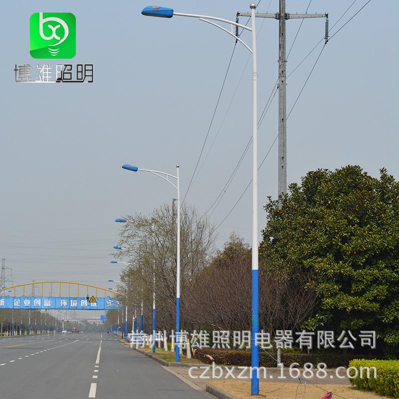 6米路灯杆A字臂道路照明路灯杆新农村建设厂区建设广场亮化