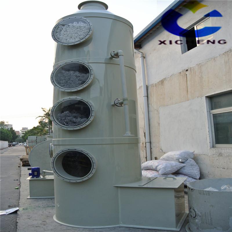 PP尾气处理净化设备 有机废气处理成套设备
