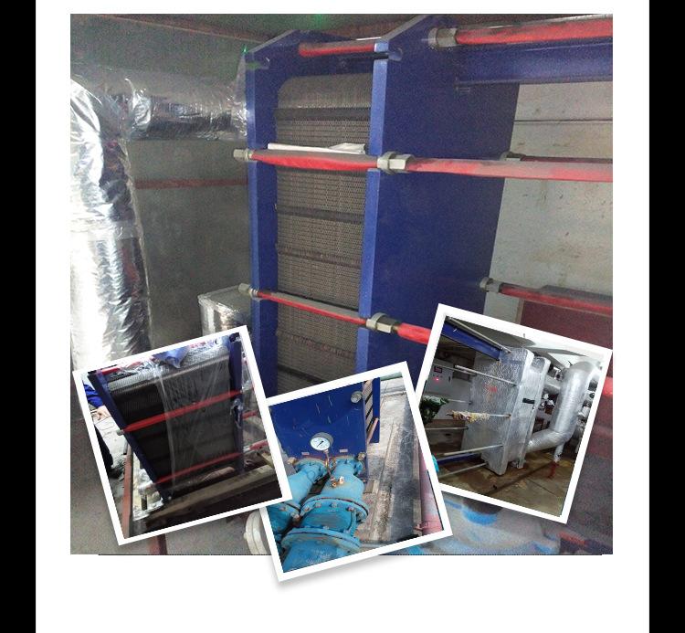 采暖换热机组板换 板式换热器 间壁式换热器 也可按照